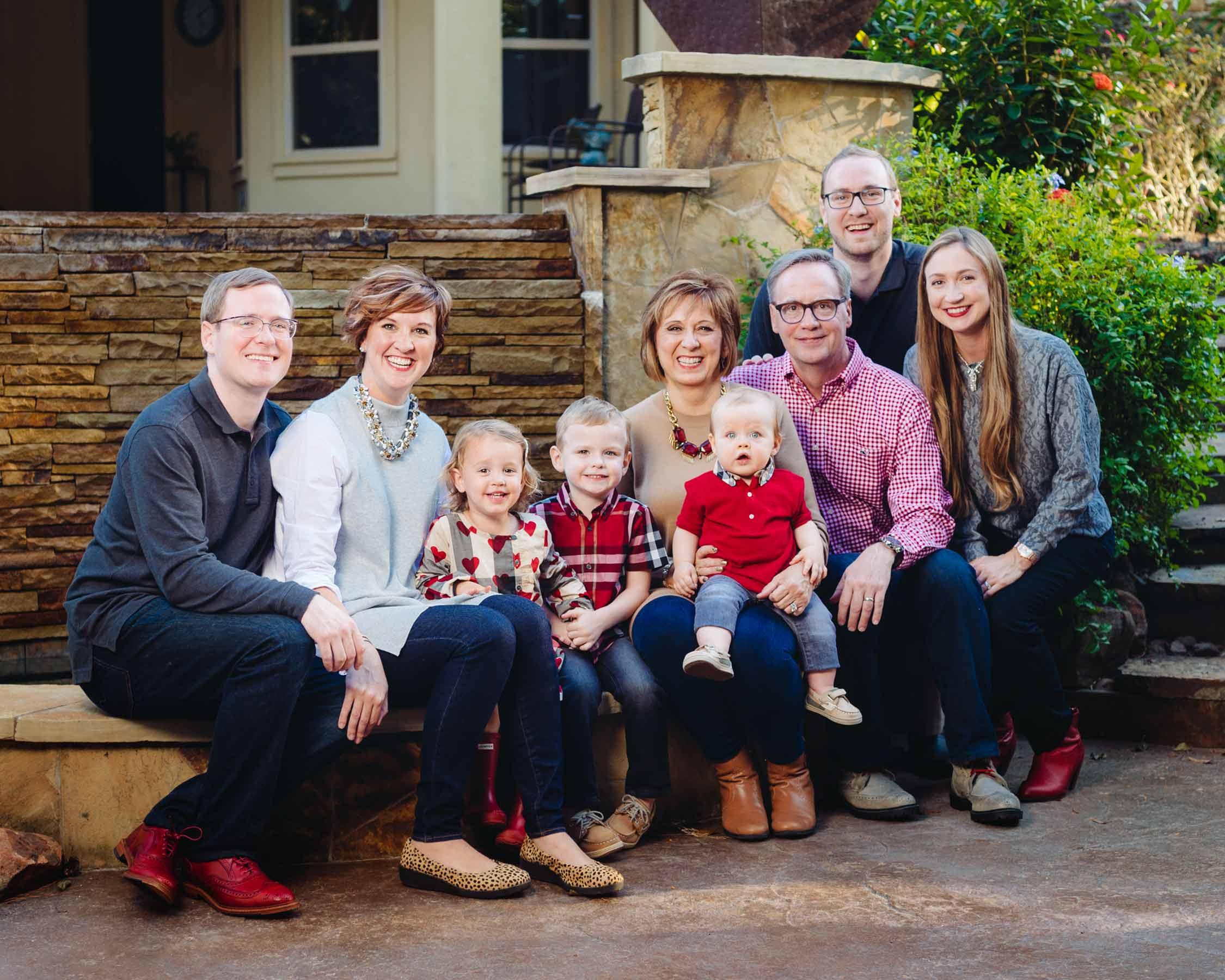Christmas Family Photos San Antonio