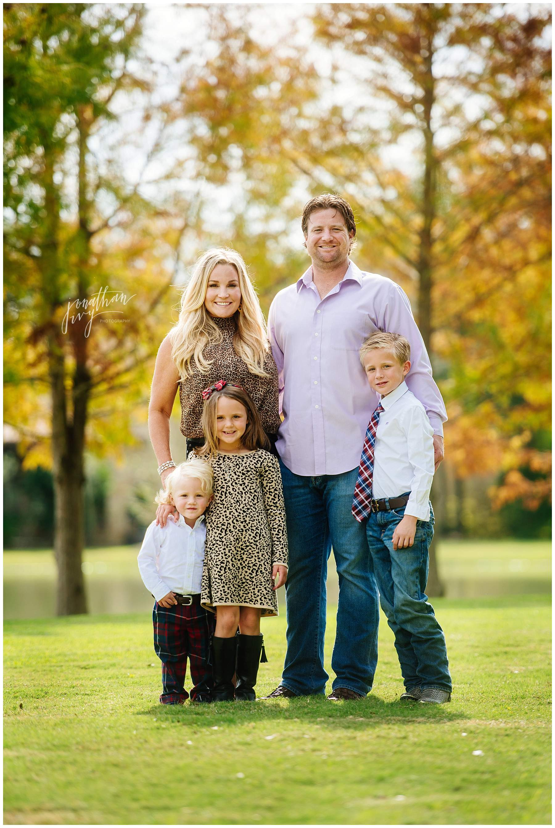 Outdoor Fall Family Photos