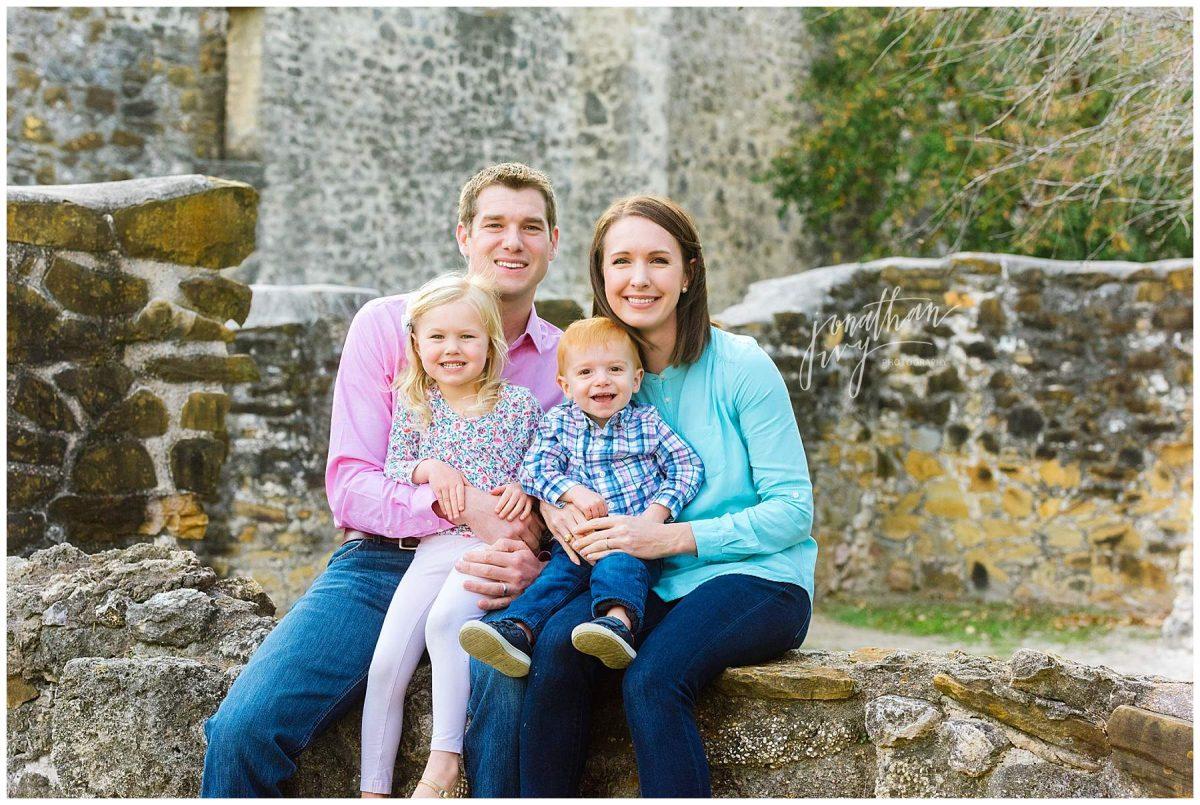 Mission Concepcion Family Photos