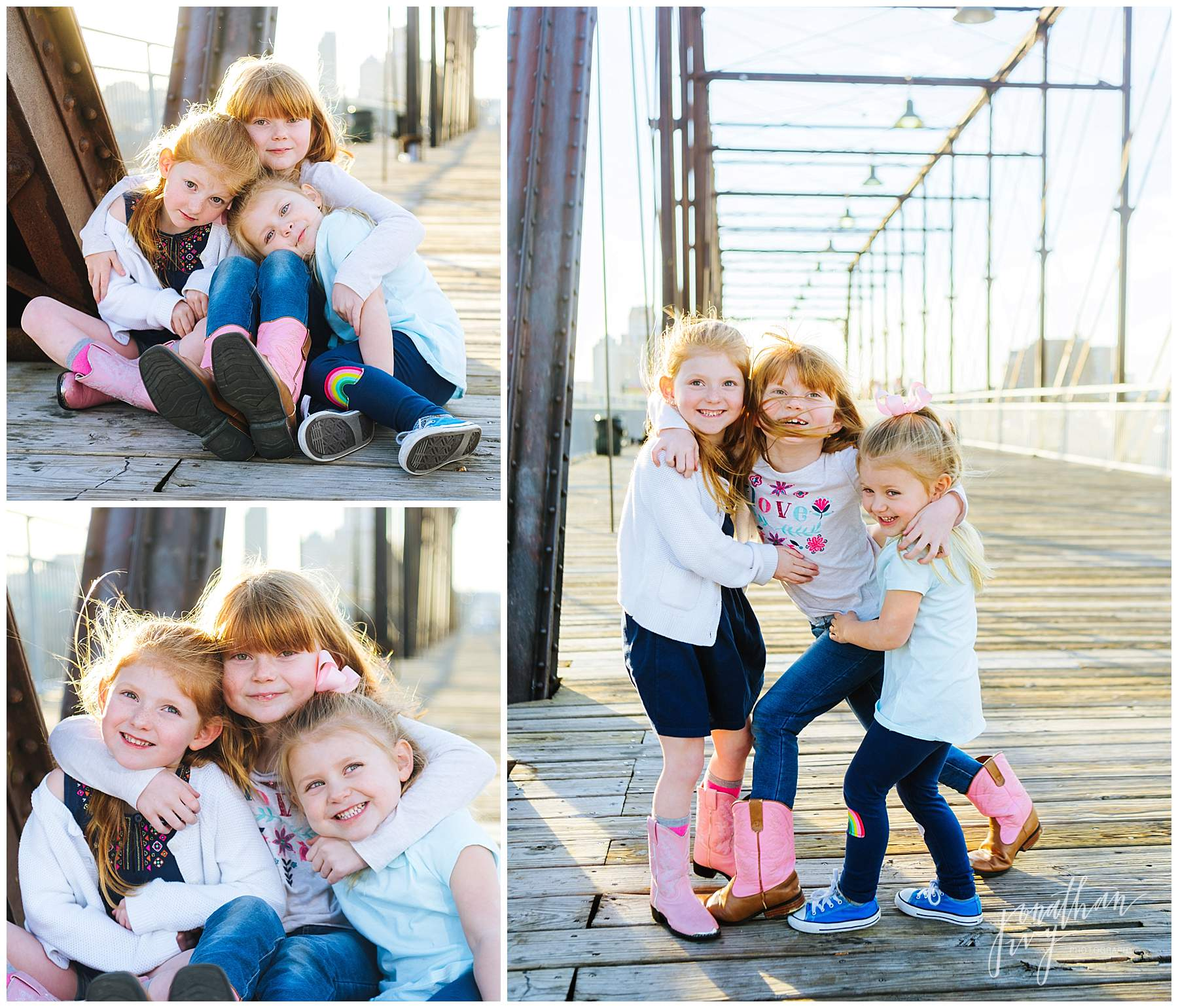 San Antonio Family Photographer: Hays Street Bridge Family Portraits