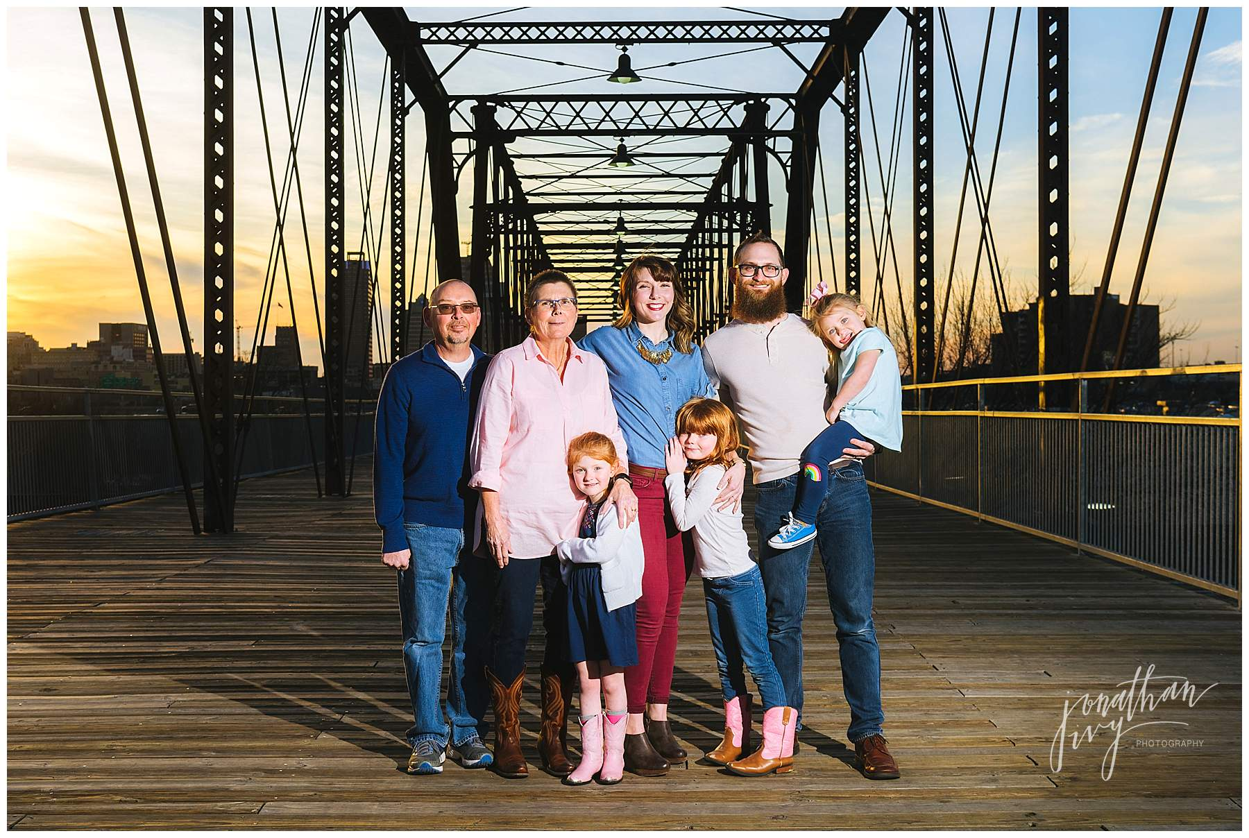 Hays Street Bridge Family Portraits